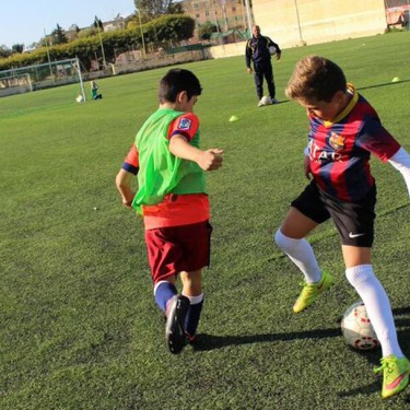 Aproach 10-11 age group - training session with warm up