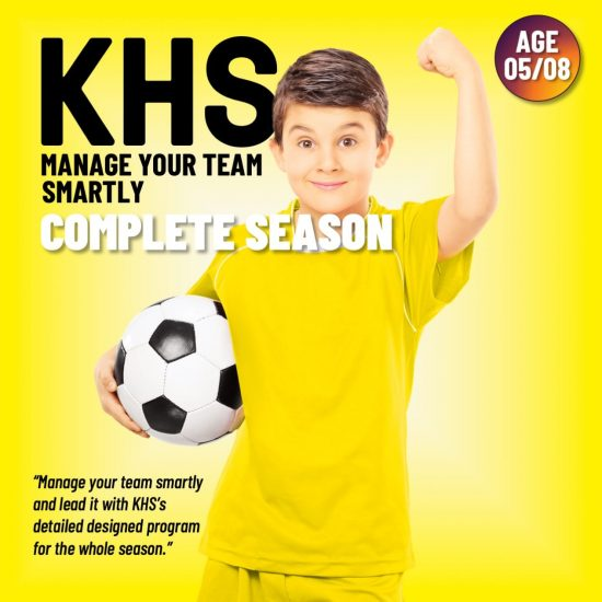 trainning plan for whole soccer season - age group 5-8